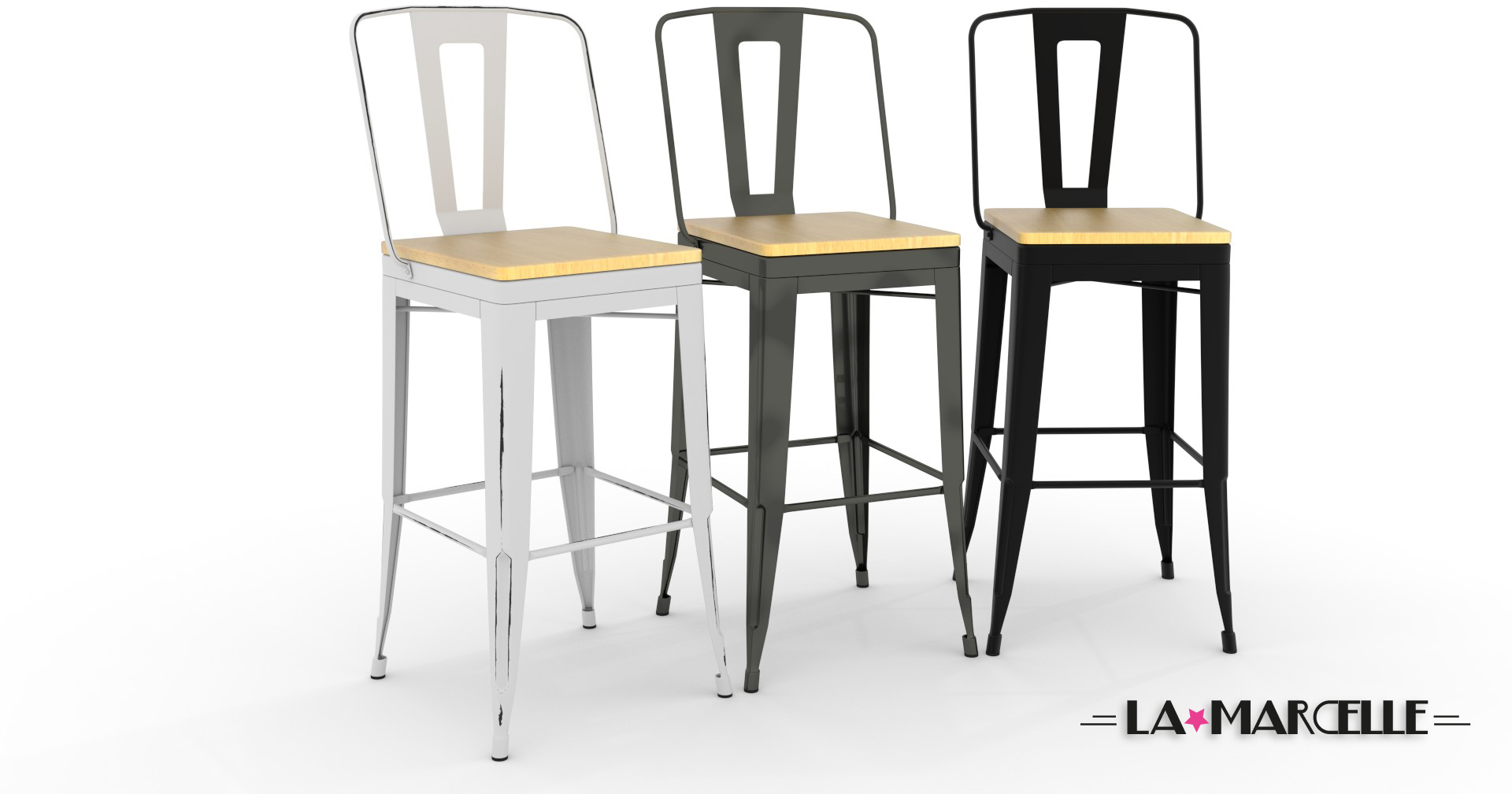 tabouret de bar tolix occasion tabouret de bar tolix. Black Bedroom Furniture Sets. Home Design Ideas